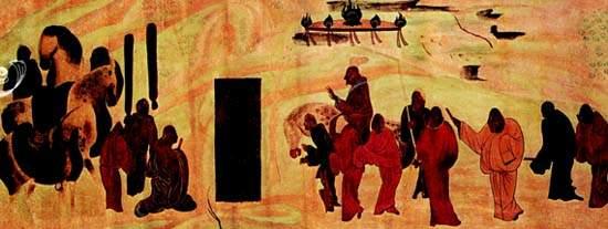 cina cavallo appaloosa grotte di mogao.jpg