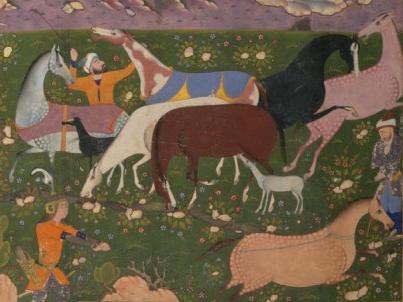 Rostam-cattura-Raksh-cavallo-Appaloosa-2-dettaglio