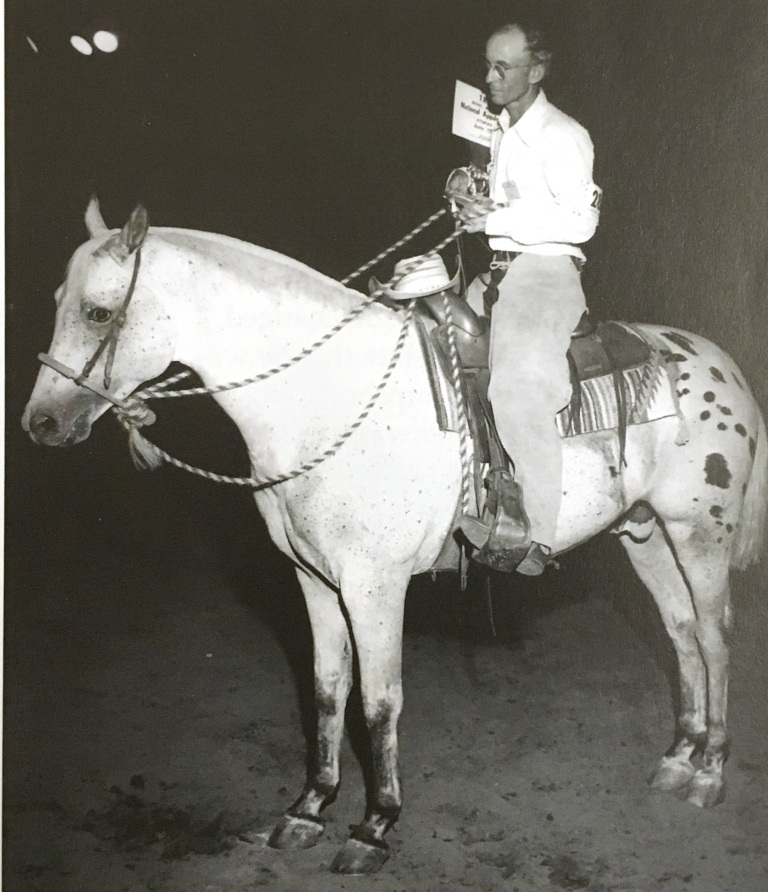 Red Eagle's Prince, stallone appaloosa del 1956, figlio di Red Eagle e Princess Beryl con Claude Thompson