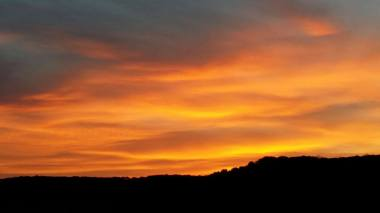 allevamento appaloosa sant anna QH tramonto