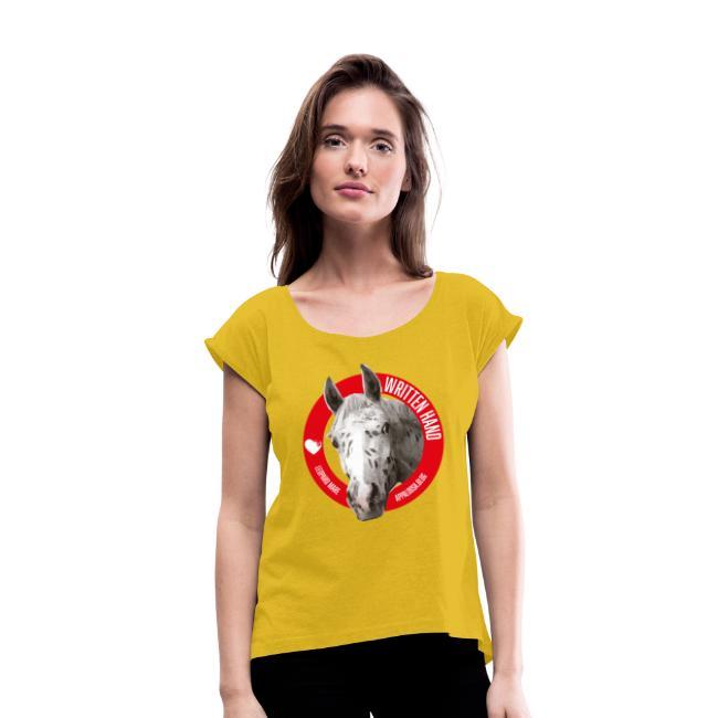 Maglietta da donna con risvolti 18,49 €